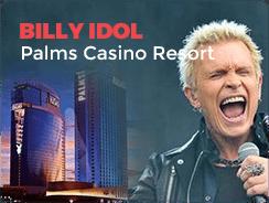 billy idol palms resort las vegas concert top 10 casinos
