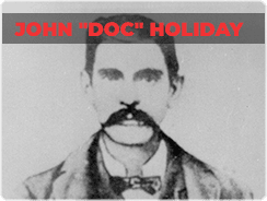 John Doc Holiday Top 10 Most Famous Gamblers in the World
