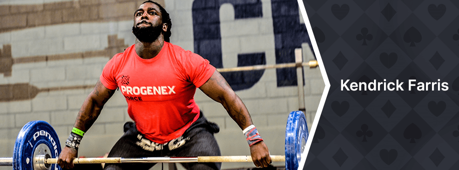 Kendrick Farris Top 10 Best Performing Plant-Based Athletes