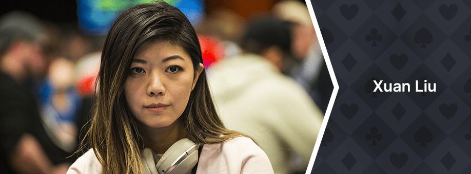 Xuan Liu top 10 casinos best poker players canada