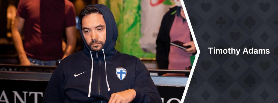 Timothy Adams top 10 casinos best poker players canada