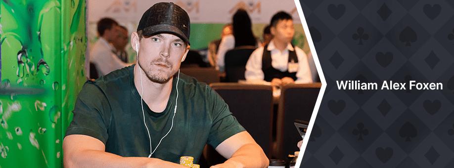 William Alex Foxen Top 10 Best Poker Players in the World