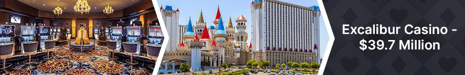 Excalibur Casino Top 10 Biggest Vegas Jackpot Wins