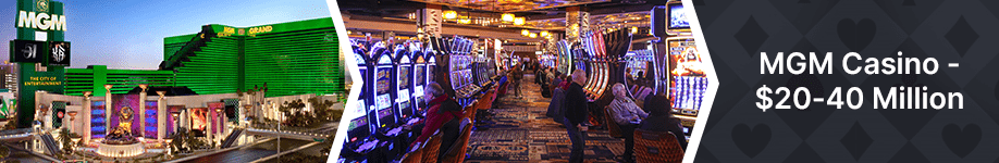 MGM Grand Casino Top 10 Biggest Vegas Jackpot Wins