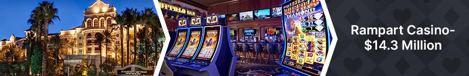 Rampart Casino Top 10 Biggest Vegas Jackpot Wins