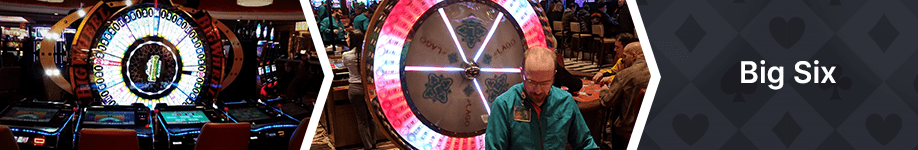 big six wheel of fortune worst casino games odds and payouts