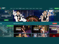 22 Bet Casino website screenshot