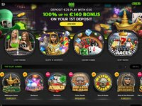 888 Casino website screenshot