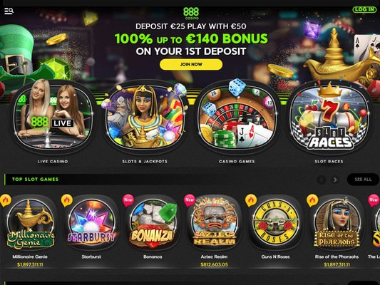 888 Casino Reload Bonus