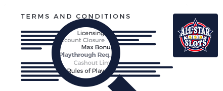 all star slots terms and conditions