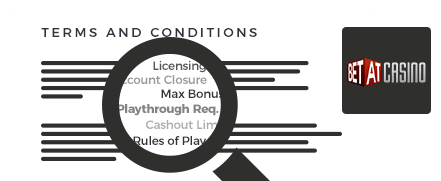 Betat Casino Terms and Conditions