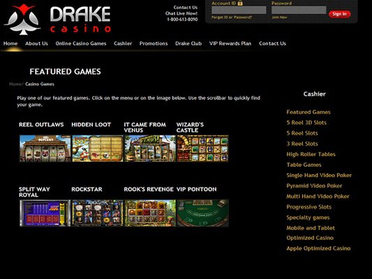 Drake software screenshot