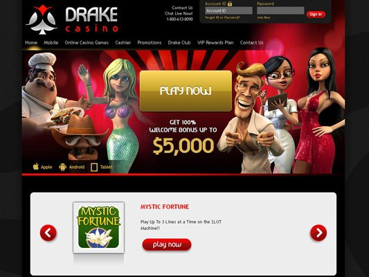 Drake website screenshot