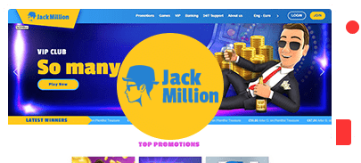 JackMillion Casino Bonus