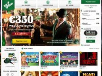 Mr Green Casino website screenshot