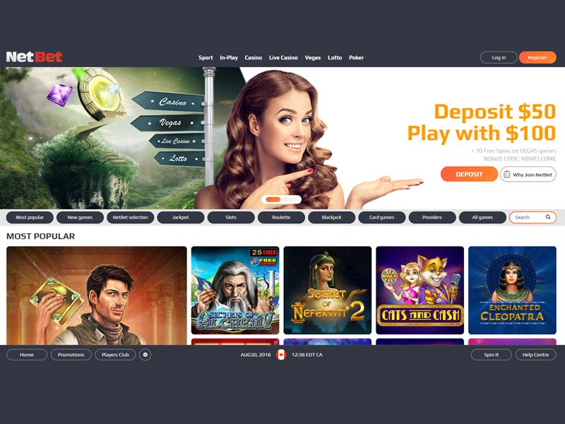 Jun 07, · Need to know if NetBet Casino is a safe place to play?Read our Review.NetBet Casino offers a 20 Casino Spins bonus, (the bonus code is 20FREESPINS).The online casino provides casino games from 35 software companies, is mobile friendly, licensed in Malta, Italy, Romania and United Kingdom and does not offer a download option.