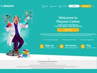 Playzee Casino website screenshot