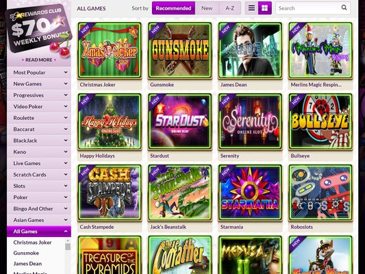 Slot Joint Casino software screenshot