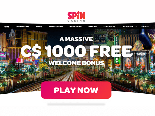 Spin Palace Casino website screenshot