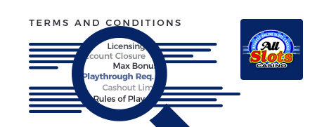 All Slots Casino Terms
