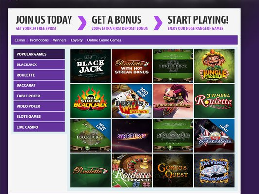 Bgo Casino software screenshot