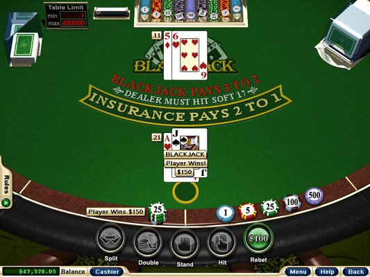Intertops Casino software screenshot