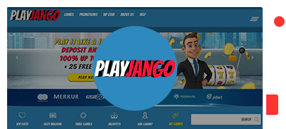 play jango top 10 casinos bonus