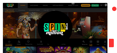 Spin Million Casino Top 10 Bonus