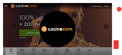Casino.com Casino bonus top 10 casinos