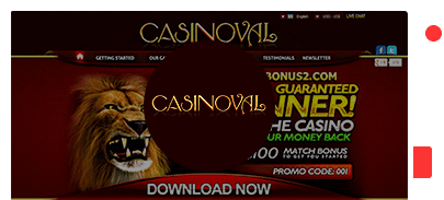 Casinoval Casino bonus top 10 casinos