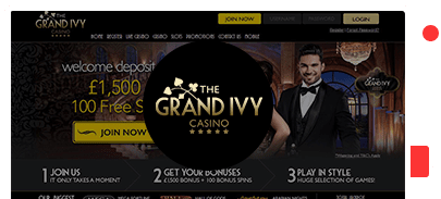grand ivy casino bonus top 10