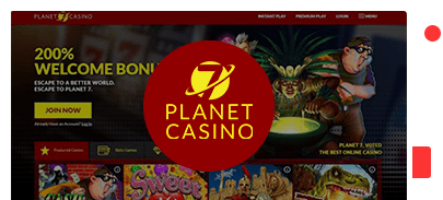 Planet 7 Casino Best Review And 2 000 Bonus Free Spins