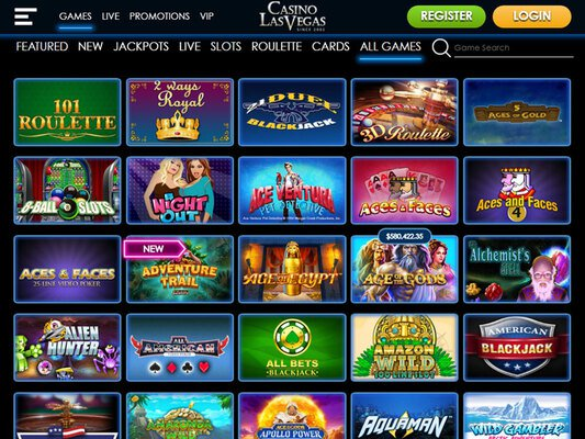 Casino Las Vegas software screenshot