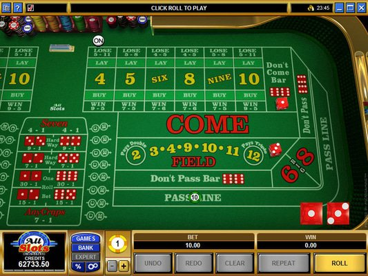 EU Casino software screenshot