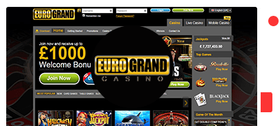 Eurogrand Casino Review Of Best Bonuses In 2020 With Free Spins