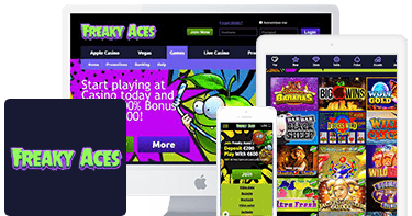 Freaky Aces Casino Mobile