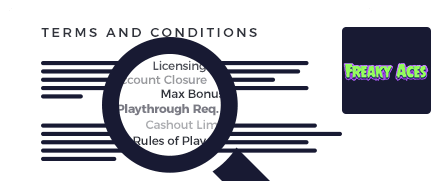 Freaky Aces Casino Terms