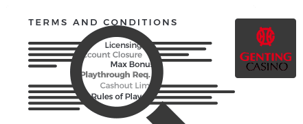 Genting Casino Terms
