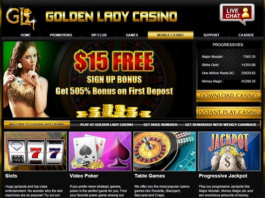 Goldenlady Casino