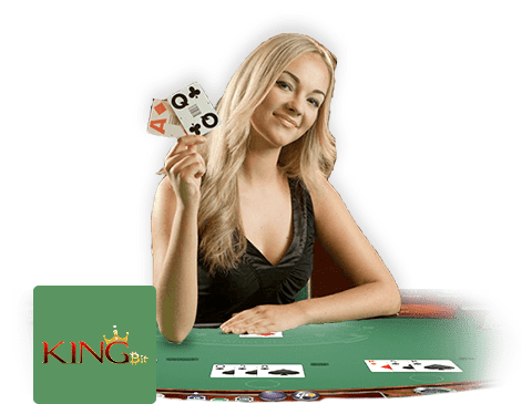Kingbit Casino live dealer