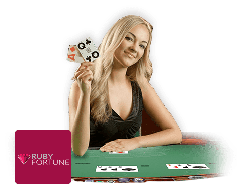 Ruby Fortune Casino live dealer
