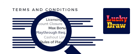 LuckyDraw Casino Terms and Conditions