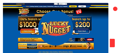 Lucky Nugget Sign Up Bonus