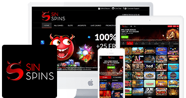 Sin Spins Casino top 10 mobile