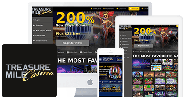 Treasure Mile Casino mobile top 10 casinos