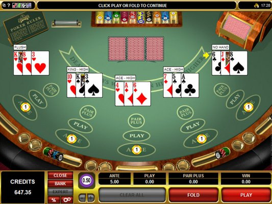 Casino Val software screenshot