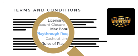 New Online Slots Casino Terms