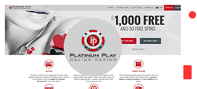 Platinum Play Casino Bonus