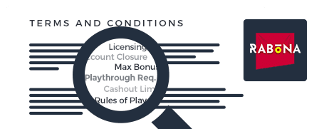 Rabona Casino Terms and Conditions