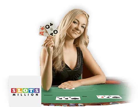 SlotsMillion Casino Live Dealers